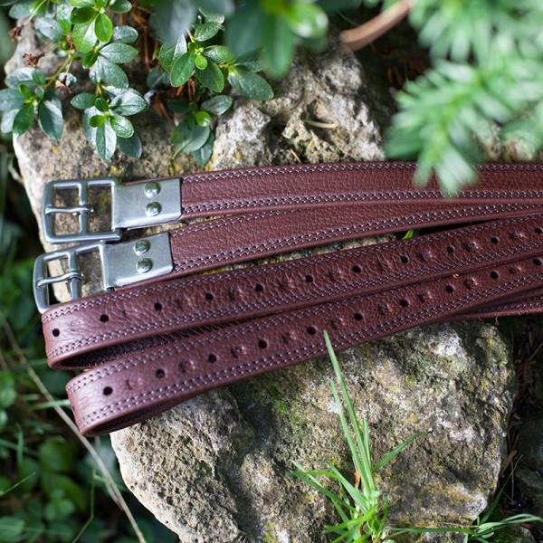 Stirrup leathers, premium calf leather